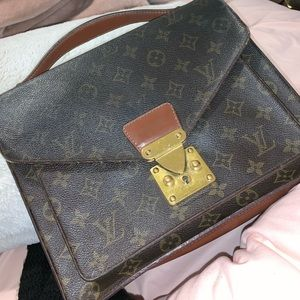 Vintage used Louis Vuitton cross body bag